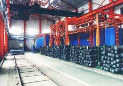 沈阳机车厂车轴悬挂热处理线